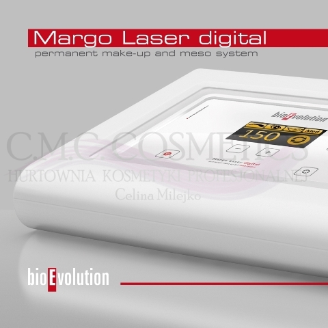 Margo Laser digital permanent make-up and meso system Makijaż permanenty i mezoterapia mikroigłowa