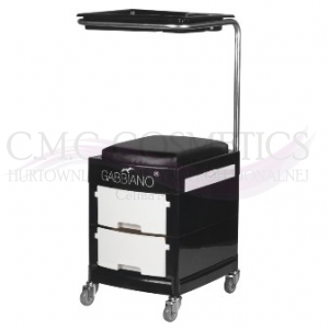 ACTIV POMOCNIK-TABORET DO PEDICURE 16 PLUS BLACK/WHITE