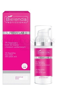BIELENDA PROFESSIONAL SUPREMELAB SENSITIVE SKIN 5% KREM DO TWARZY Z KWASEM AZELAINOWYM 50ml