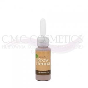 Henna do brwi LIGHT CHESTNUT Nr.3 BH Brow Henna
