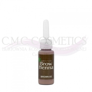 Henna do brwi RICH BROWN Nr.3 BH Brow Henna