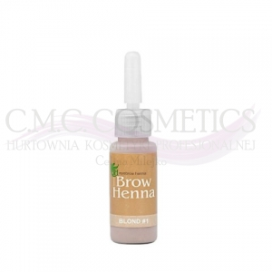 Henna do brwi PEARL BLOND Nr.1 BH Brow Henna