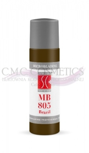 swiss color Mikropigment barwnik do microblading MB 805 Brazil 6 ml