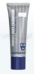 KRYOLAN PERFECT BODY FOUNDATION - PODKŁAD KRYJĄCY DO CIAŁA 50ML DARK OLIVE
